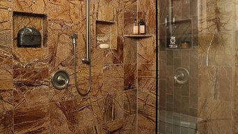 Rainforest marble & slate