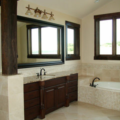 traditional bathroom by Kelly Cross