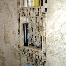 Traditional Bathroom by Rebekah Frye