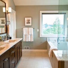 Traditional Bathroom by Vida Shore Design