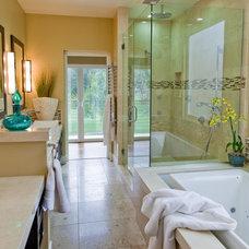 Traditional Bathroom by Kelly Smiar Interior Design