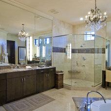Mediterranean Bathroom by Ramos Design Build Corporation - Tampa
