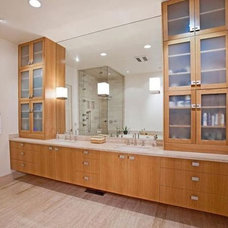 Contemporary Bathroom by Duvall Architects, PC