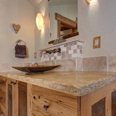 Rustic Bathroom by Allen-Guerra Architecture