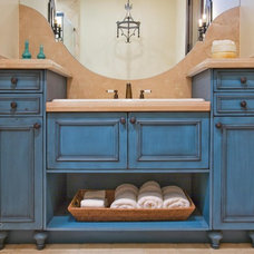 Eclectic Bathroom by Palmer Todd