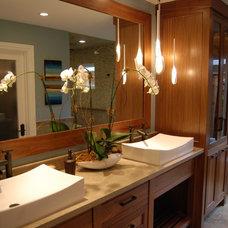 Contemporary Bathroom by Dennis Baldwin Interiors