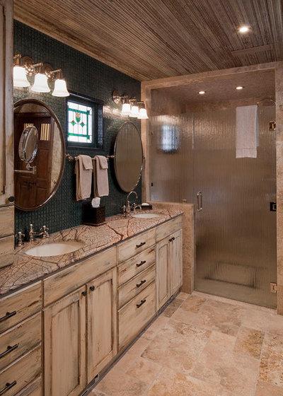 Rústico Cuarto de baño by Rachel Mast Design