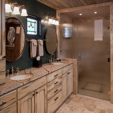 Traditional Bathroom by Rachel Mast Design