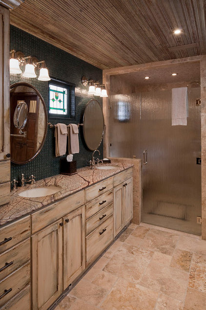 Rustic Bathroom by Rachel Mast Design