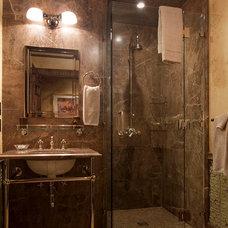 Rustic Bathroom by Rachel Mast Design