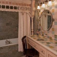 Traditional Bathroom by Rachel Mast Design