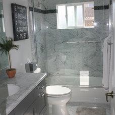 Contemporary Bathroom by Renovation Design