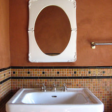 Traditional Bathroom by Kathryn Waltzer