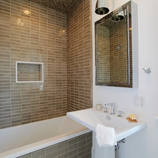 modern bathroom by Core Development Group, Inc.