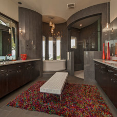 Contemporary Bathroom by Seven Custom Homes