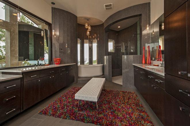 Contemporary Bathroom by Seven Custom Homes