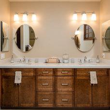 Modern Bathroom by Budget Bath &  Kitchen