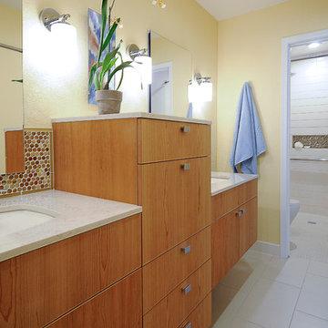 Rancho Bernardo Universal Designed Master Bath - CairnsCraft Design & Remodel
