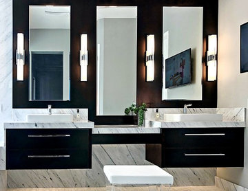 Rancho Mirage Classic Contemporary Master Bath