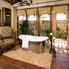 Mediterranean Bathroom by Sennikoff Architects