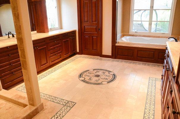 Traditional Bathroom by MHS-Works,Inc.