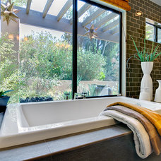 Contemporary Bathroom by Shaw Coates