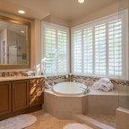 small guest bathroom design by Bay Area building ...