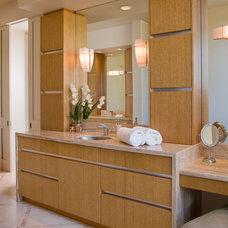 Southwestern Bathroom by Alpha Design Group
