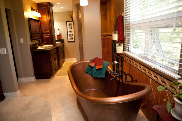 Traditional Bathroom by DB West Construction, Inc.