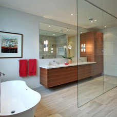 Contemporary Bathroom by Olympic Kitchens