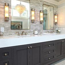 Traditional Bathroom by D.A.S. Custom Builders