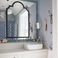 Eclectic Bathroom by Kingston Lafferty Design