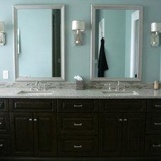 Traditional Bathroom by Hardwood Creations