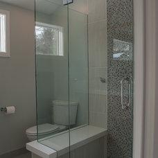 Contemporary Bathroom by Kathryn Johnson Interiors Inc