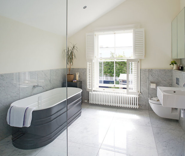 Traditional Bathroom by Ambient Architecture