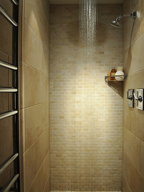 Large Shower Tile Home Design Ideas Pictures Remodel And