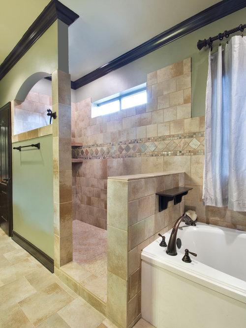 Craftsman new orleans bathroom design ideas remodels photos for Bathroom new orleans