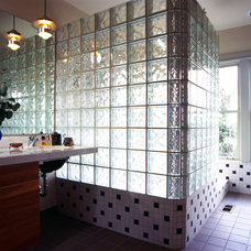 Eclectic Bathroom by Lane Williams Architects