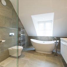 Contemporary Bathroom by Barnes Design