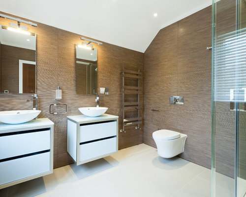brown bathroom ideas, pictures, remodel and decor,