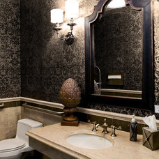Traditional Bathroom by Room by Room Inc