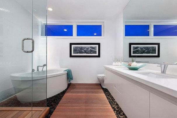 Contemporary Bathroom by Two Column Media