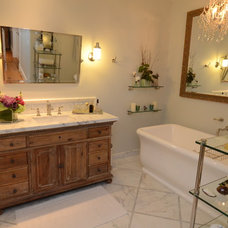 Traditional Bathroom by Skyline Kitchen & Bath