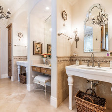 Traditional Bathroom by Exceptional Frames Photography