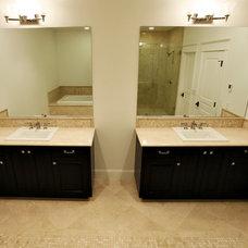 Traditional Bathroom by YK Stone Center Inc.