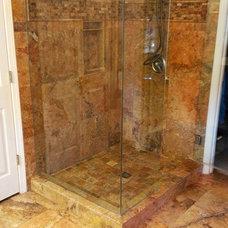 Mediterranean Bathroom by Enso Tile Designs