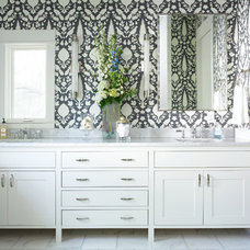 Contemporary Bathroom by Mi-Kin Creations, Inc.