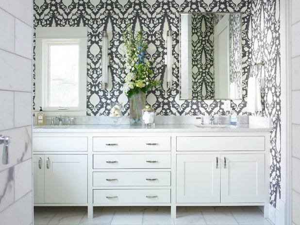 Contemporary Bathroom by Mi-Kin Creations, Inc.