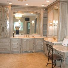 Traditional Bathroom by Mi-Kin Creations, Inc.
