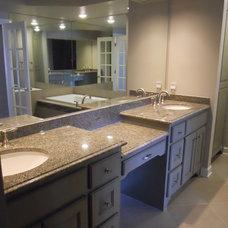 Traditional Bathroom by Stephanie Allen Designs, Inc